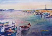 Авторска картина живопис Морски поглед