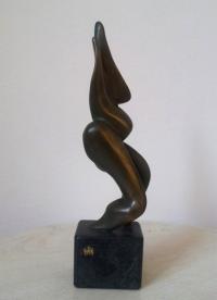 Авторска бронзова скулптура Форми