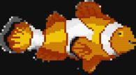 Мозайка за стена - Риба клоун