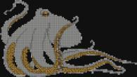 Декоративна мозайка - Октопод